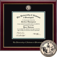 Church Hill Classics Masterpiece Diploma Frame. Dual Degree.