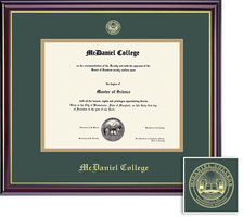 McDaniel College Diploma