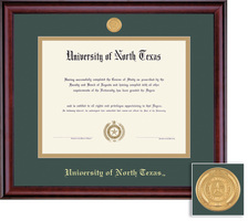 Framing Success Classic BA MA Diploma Frame in Burnished Cherry Finish