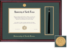Framing Success Classic BA MA Tassel Diploma Frame in Burnished Cherry Finish