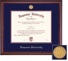 Framing Success Classic Doctorate Diploma Frame in a Burnished Cherry Finish