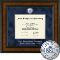 Church Hill Classics Presidential Diploma Frame Shepard Broad Law Center