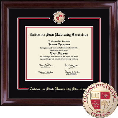 california state university stanislaus bookstore church hill  church hill classics showcase diploma frame bachelors masters ph d