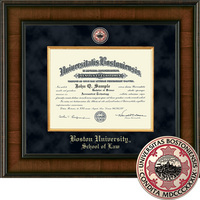 Church Hill Classics Presidential Diploma Frame   Law