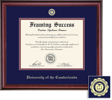 Framing Success Classic BA Diploma Frame in a Burnished Cherry Finish