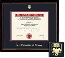 Framing Success Prestige Diploma Frame, Dbl Mat, Satin Black Finish. BA, MA (March 2011 to present)