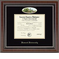 Church Hill Classics Campus Cameo Diploma Frame   BachelorsMasters