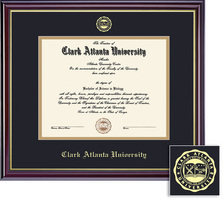 Framing Success Windsor MA (2014 only) Diploma Frame, Dbl Matted in Gloss Cherry Finish, Gold Trim