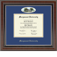 Church Hill Classics Campus Cameo Diploma Frame. Bachelors, Masters, or PHD