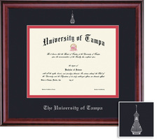Framing Success Classic Diploma Frame. Double Matted in Burnished Cherry Finish