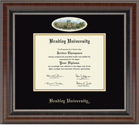 Church Hill Classics Campus Cameo Diploma Frame. Bachelors, Masters, or Ph.D.