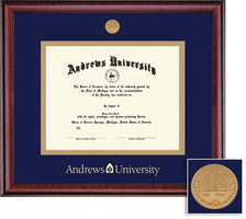 Framing Success Classic Mdl Diploma Frame. Double Matted in Burnished Cherry Finish