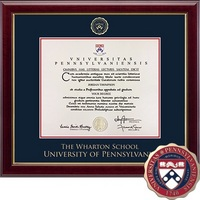 Church Hill Classics Masterpiece Diploma Frame, Wharton (Online Only)