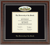 Church Hill Classics Cameo Diploma Frame. Bachelors, Masters, PhD