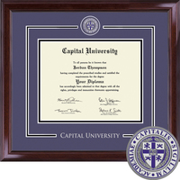 Church Hill Classics Showcase Diploma Frame. Bachelors and Masters