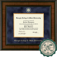 Church Hill Classics Presidential Diploma Frame. Bachelors, Pre December 2015 Masters