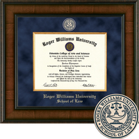 Church Hill Classics Presidential Diploma Frame. Law Degree