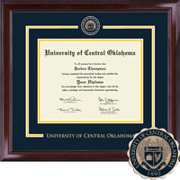 Church Hill Classics Showcase Diploma Frame.Associates, Bachelors, Masters
