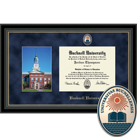 Church Hill Classics Campus Scene Diploma Frame. Bachelors, Masters