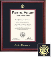 Framing Success Classic Diploma Frame, Double Matted in Burnished Cherry Finish