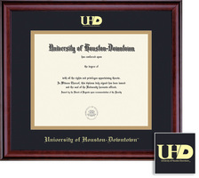 Framing Success Classic Associate or Business Cert Dip Frame, Dbl Matted in Burnished Cherry Finish