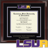 Church Hill Classics Spirit Diploma Frame. Associates Bachelors (Online Only)