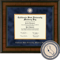 Church Hill Classics Presidential Diploma Frame. Associate, Bachelor, Master Post2012 (Online Only)