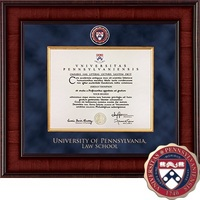 Church Hill Classics Presidential Diploma Frame, Law (Online Only)