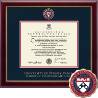 Church Hill Classics Masterpiece Diploma Frame, Veterinary Med (Online Only)