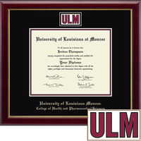 Church Hill Classics Masterpiece Diploma Frame. College of Health and Pharmaceutical Sciences