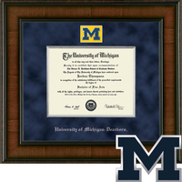 Church Hill Classics Dearborn Presidential Diploma Frame. Bachelors, Masters (Online Only)