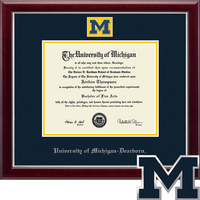 Church Hill Classics Dearborn Masterpiece Diploma Frame. Bachelors Masters (Online Only)