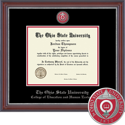 Church Hill Classics Masterpiece Diploma Frame, Education & Human Ecology (Online Only)
