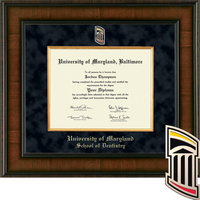 Church Hill Classics Presidential Diploma Frame, Dentistry (Online Only) Spring 2017 Diplomas