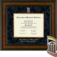 Church Hill Classics Presidential Diploma Frame, Social Work (Online Only)  Spring 2017 Diplomas