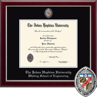 church hill classics masterpiece diploma frame engineering online only - Diploma Frame Size
