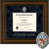 Church Hill Classics Presidential Diploma Frame Adv. Intl. Studies (Online Only)