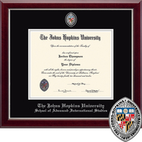 Church Hill Classics Masterpiece Diploma Frame, Adv. Intl. Studies (Online Only)