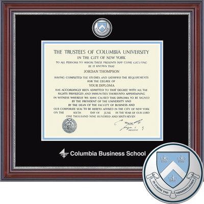 Church Hill Classics Masterpiece Diploma Frame Business School (Online Only)