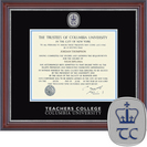 Church Hill Classics Masterpiece Diploma Frame, Teachers College (Online Only)