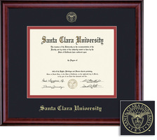Framing Success Classic Double Matted Diploma Frame in a Burnished Cherry Finish, LAW