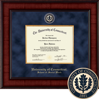 Church Hill Classics Presidential Diploma Frame. Social Work. Bachelors, Masters.