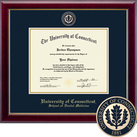 Church Hill Classics Masterpiece Diploma Frame. Dental Medicine. PhD.