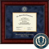 Church Hill Classics Presidential Diploma Frame. Law.