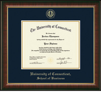 Church Hill Classics Embossed Murano Diploma Frame. Business. Bachelors, Masters.