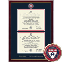 Church Hill Classics Double Document Diploma Frame. Associates, Bachelors, Masters, PhD