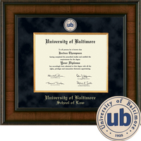 Church Hill Classics Presidential Diploma Frame. Law. (ONLINE ONLY)