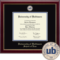 Church Hill Classics Masterpiece Diploma Frame.  Law. (ONLINE ONLY)