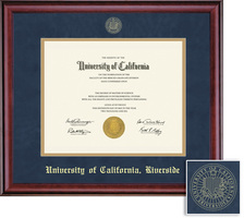 Framing Success Classic Diploma, Double Mat in Rich Burnished Cherry Finish