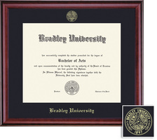 Framing Success Classic Diploma, Single Mat Rich Burnished Cherry Finish